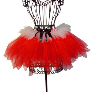 Mrs. Santa Claus Red Christmas Tutu