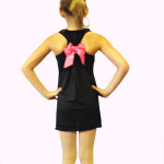 Rhinestone Dance Bow Back Tank Top