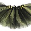 Batman Bumble Bee Striped Halloween Tutu
