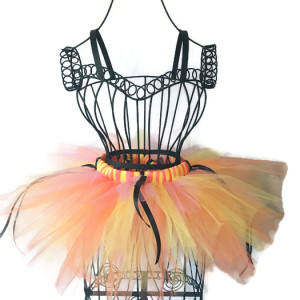 Halloween Candy Corn Pixie Tutu