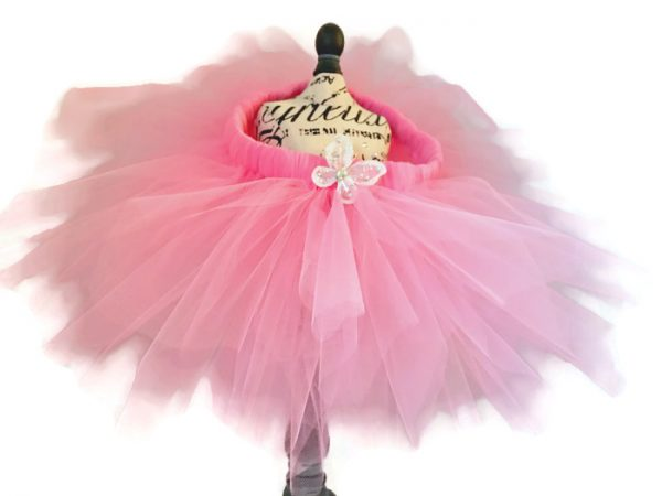 Pink Pixie Baby Butterfly Tutu