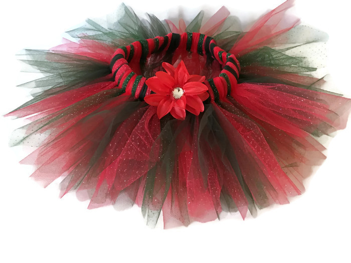 Traditional Christmas Sparkle Tutu