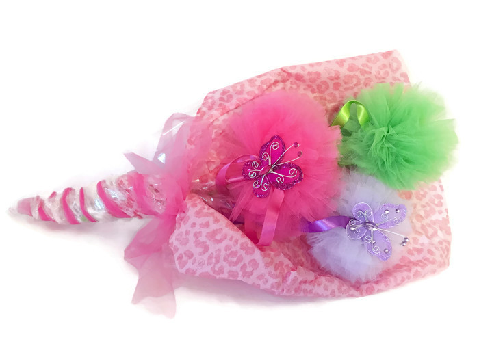 butterly pom pom magic wands