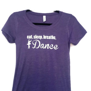 Eat sleep relax dance shirt