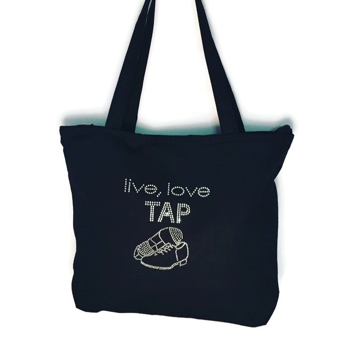 live love tap dance bag