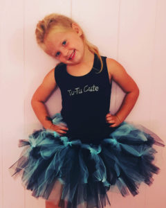 Simply Magical Black Blue Fairy Tutu