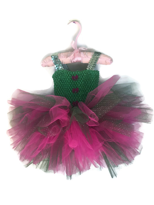 My Green Eyed Fairy Girl Tutu Dress