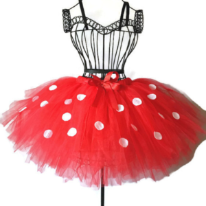 Red Polka Dot Minnie Inspired Tutu