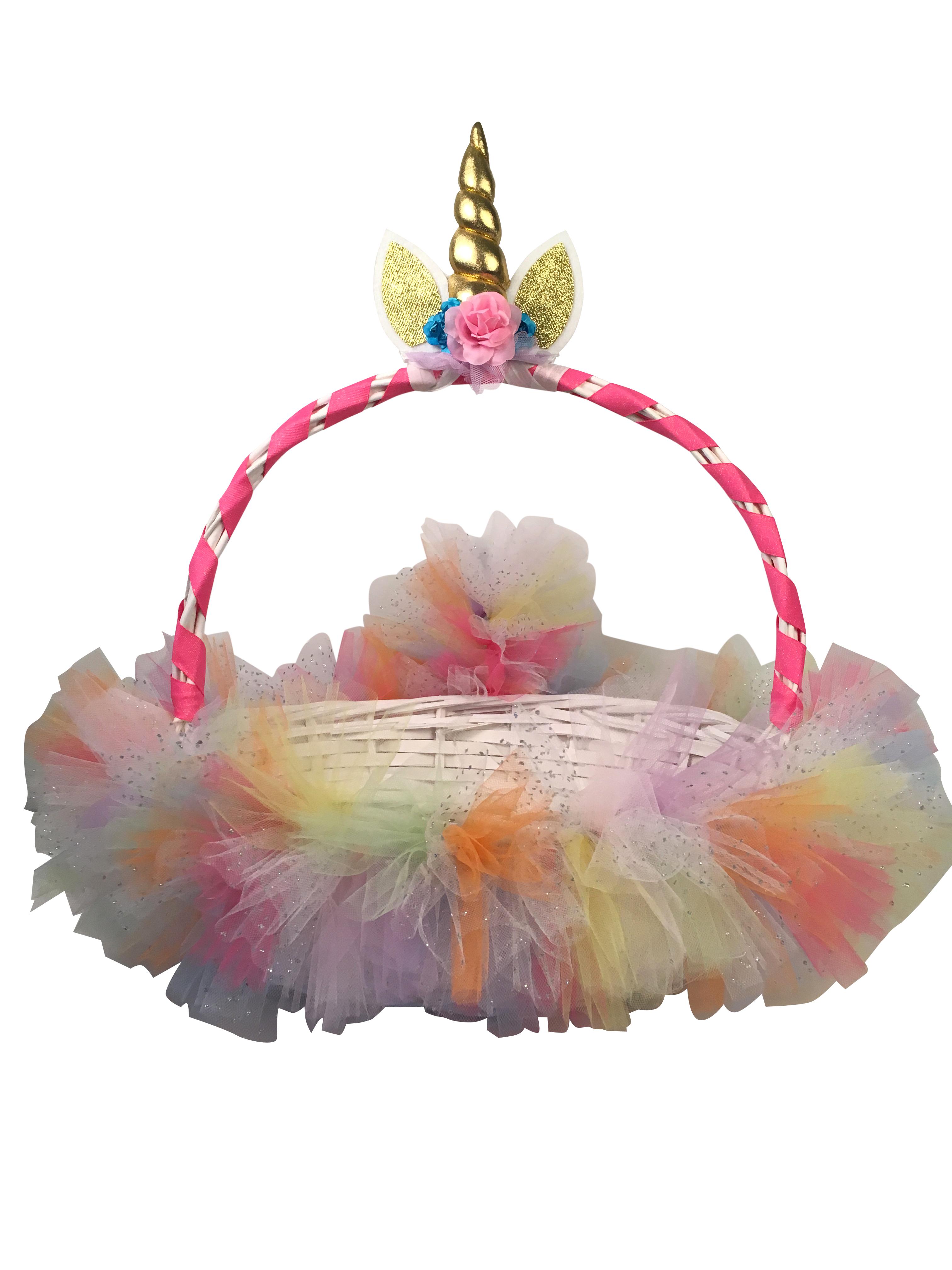 unicorn basket
