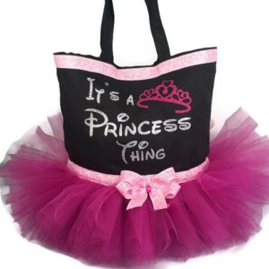 princess thing tutu dance bag