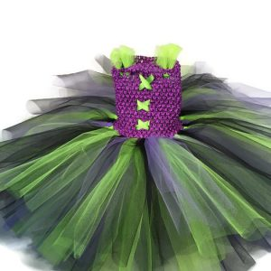 green with envy little witch tutu costume