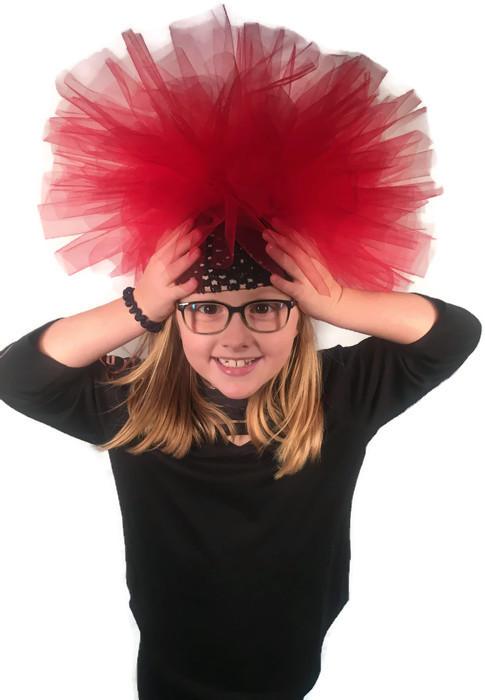 tutu crazy hat