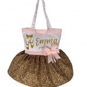 Tiny Dancer Gold Cheetah Tutu Bag