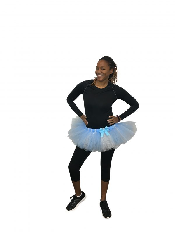 Once Upon a Dream Blue and White Sparkle Tutu