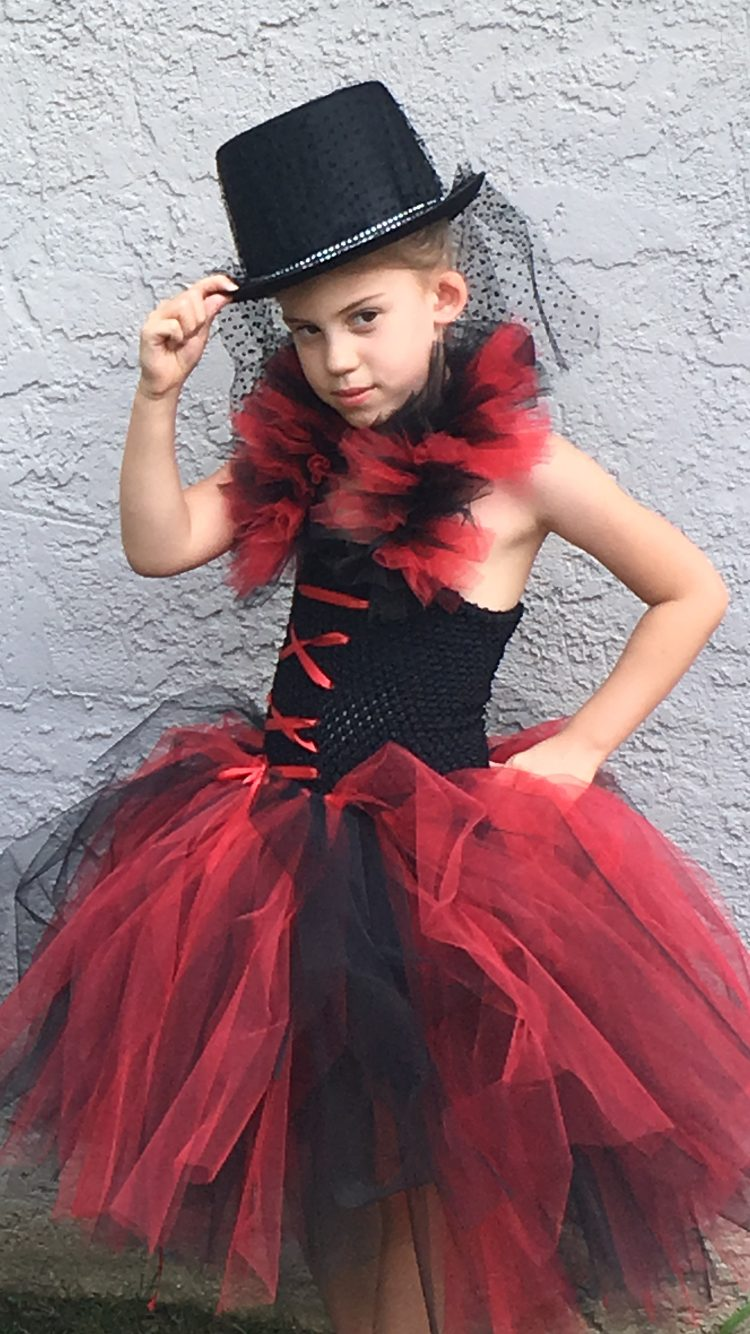 Ring Master Day of the Dead Tutu Dress