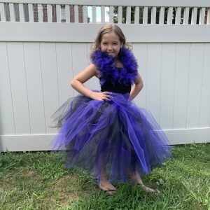 Mal Inspired Descendants Tutu Dress