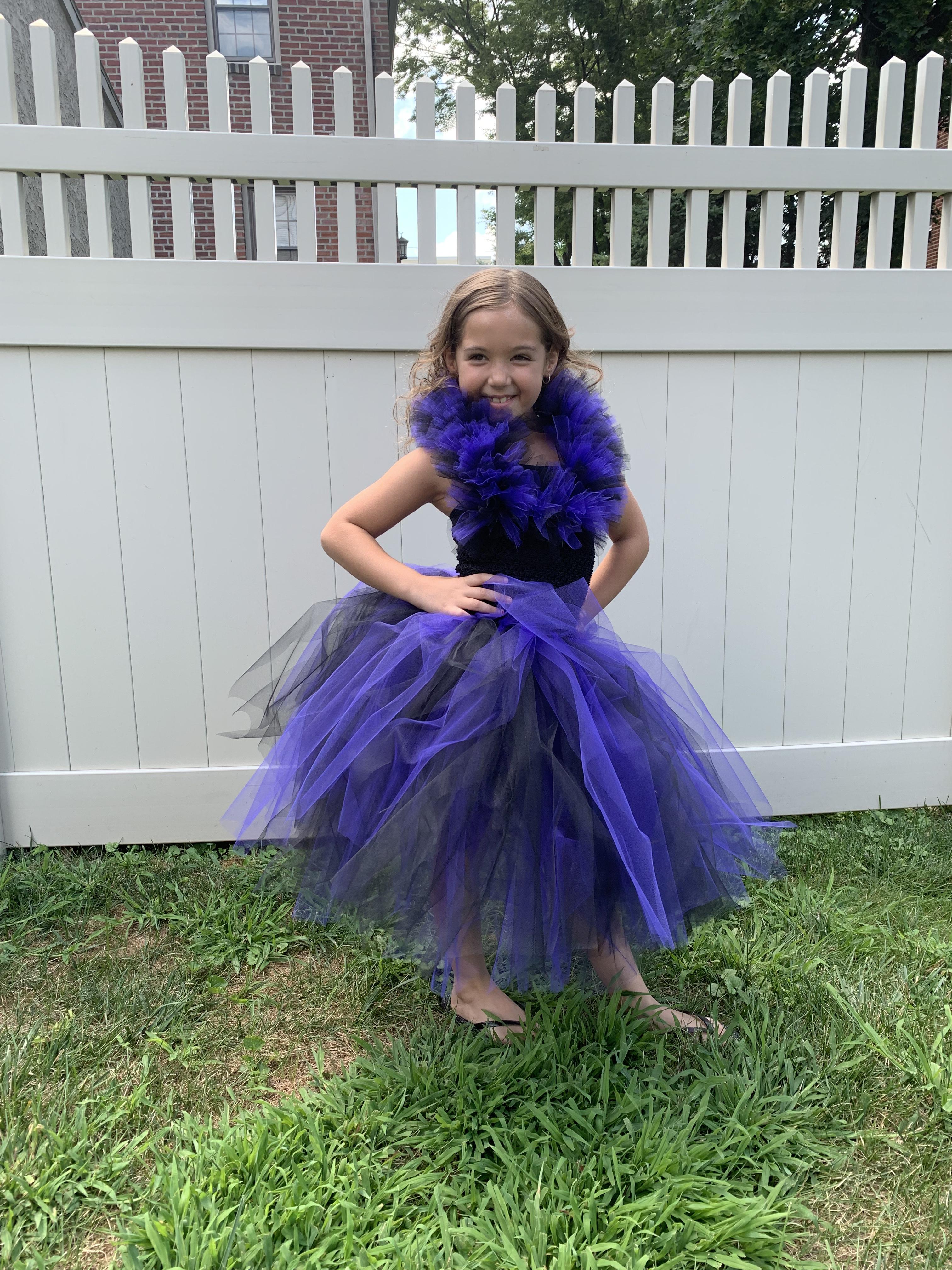 Mal Inspired Descendants Tutu Dress