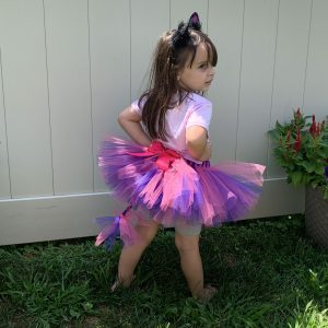 Cheshire Cat Inspired Striped Tutu