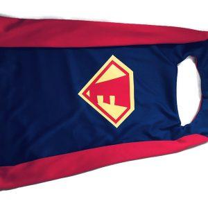 Charming Delight Personalized Superhero Cape