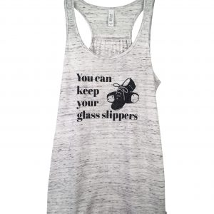 Glass Slipper Tap Shoes Flowy Tank Top