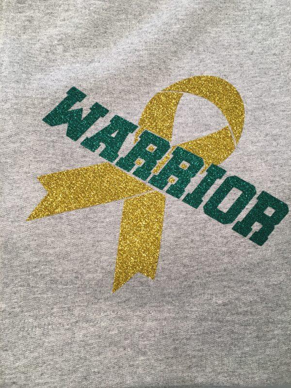 Warrior Ribbon Cancer Fundraiser Blanket