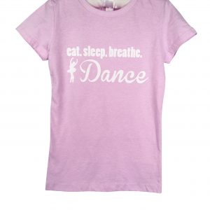 Eat Sleep Dance Ballerina T-Shirt