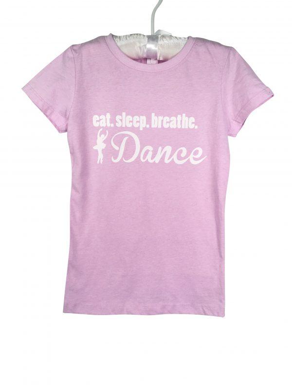 Eat Sleep Dance Ballerina T-Shirt