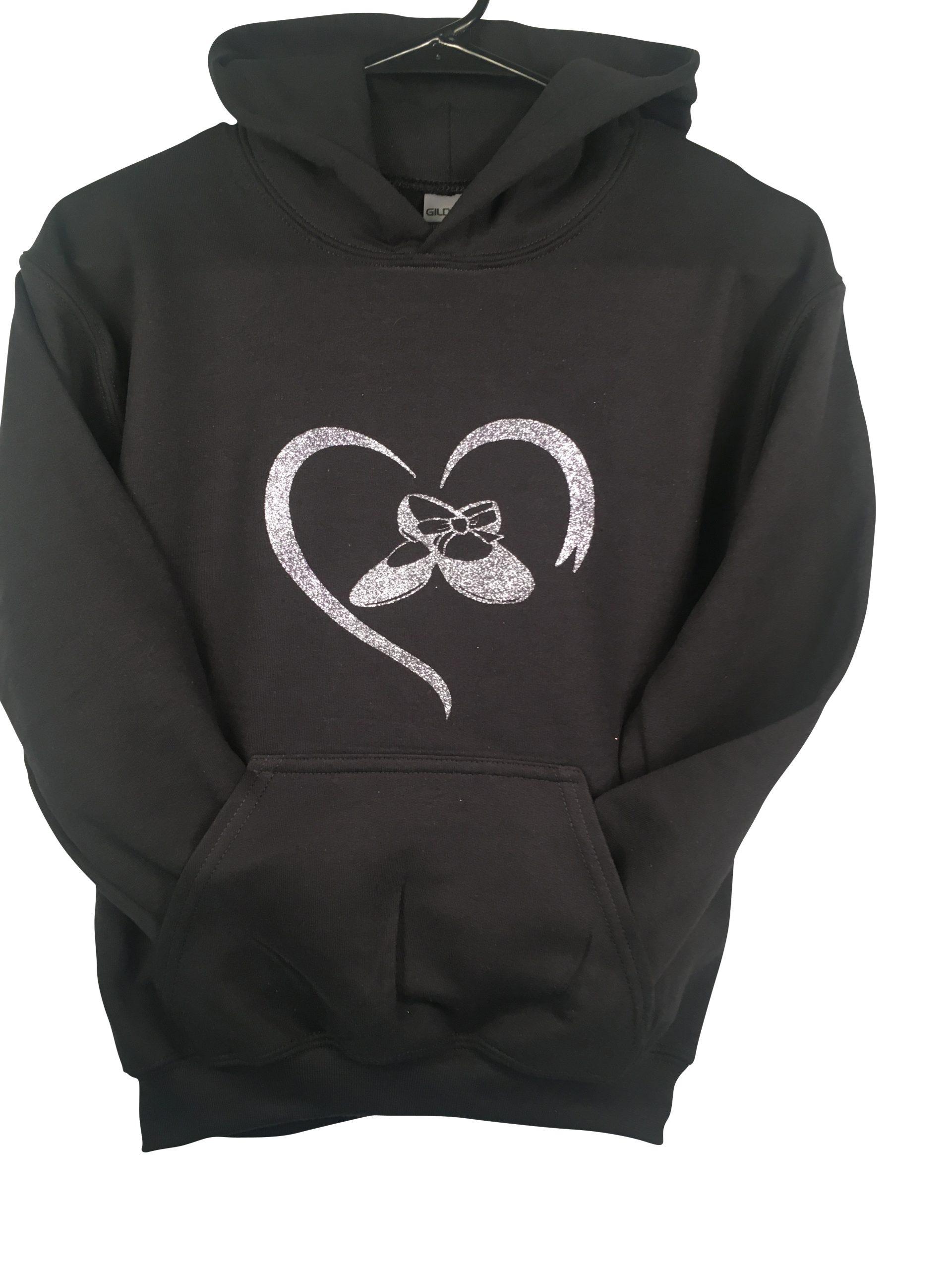Tap Dance Love Heart Hoodie