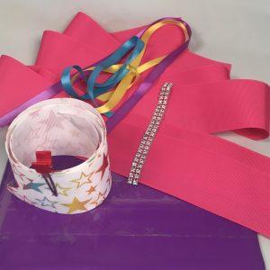 DIY Large Cheer Hair Bow Kits