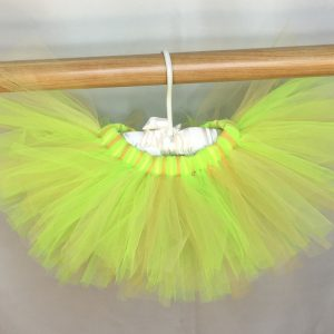 key lime tangerine summer tutu