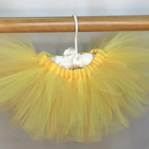 lemon yellow sunshine tutu