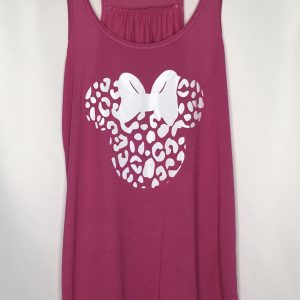 Cheetah Minnie Flowy Tank Top