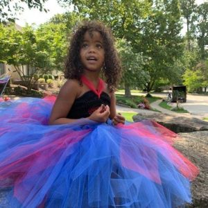Halloween Heart Tutu Dress Inspired by Evie