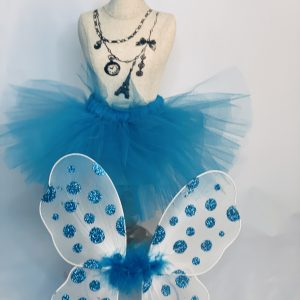 18 inch doll tutu and butterfly wings ste