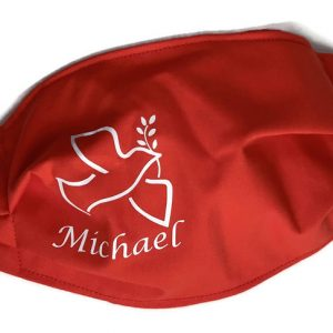 personalized confirmation cloth face masks