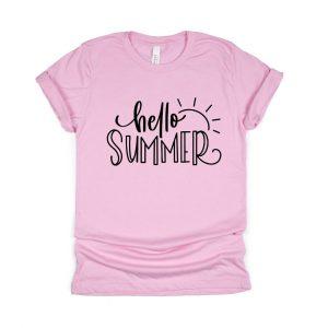 Hello Summer Soft Tee